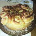torta di rose con crema al burro
