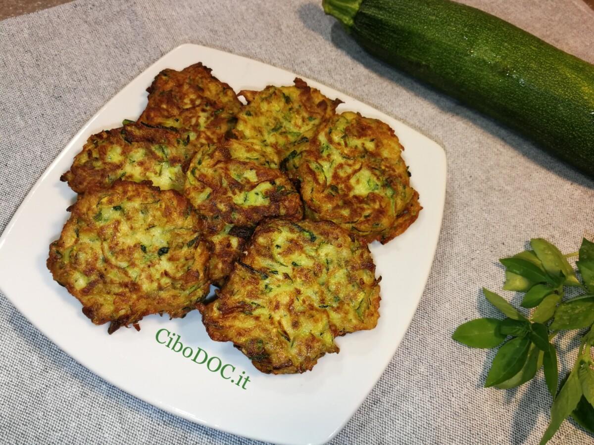 frittelle facili di zucchine