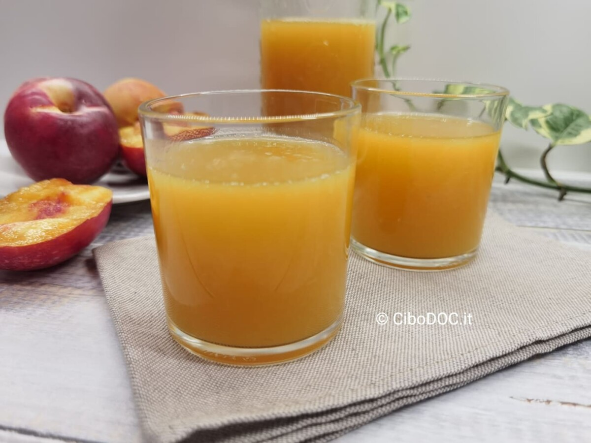 come fare il succo di frutta