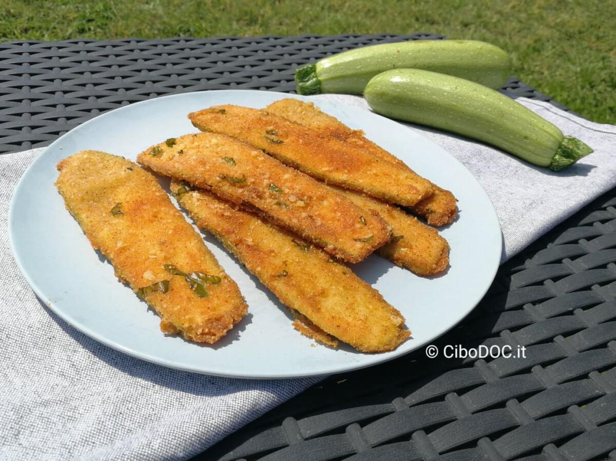 cotolette di zucchine